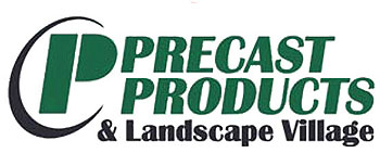 precast products and landscape village lincoln nebraska logo