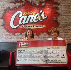 raising canes supports non profits lincoln