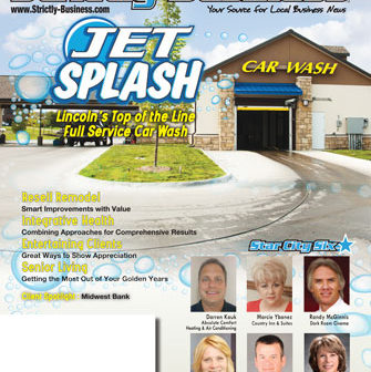 strictly business cover lincoln jet splash