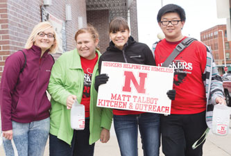 Huskers Helping The Homeless Raises Over 40 000 For