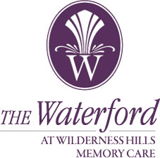 the waterford at wilderness hills memory care lincoln nebraska logo
