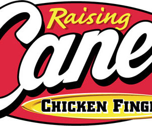 Raising Canes logo lincoln nebraska