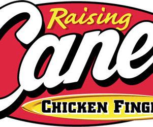Raising Canes logo lincoln nebraska