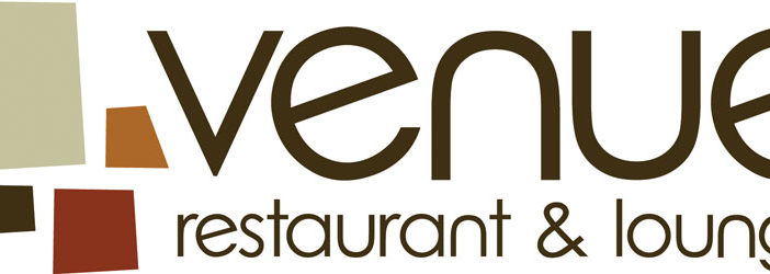 venue restaurant and lounge logo lincoln nebraska
