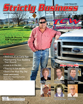 Strictly business cover february lincoln nebraska