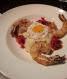 Grilled shrimp from Vin48