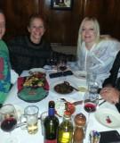 Enjoying wine and cuisine at Ristorante Ti Amo