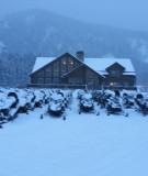 The beautiful lodge at Nova Guides