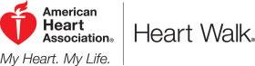 american heart association heart walk logo