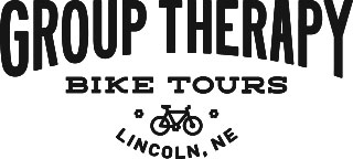 group therapy bike tours logo lincoln nebraska