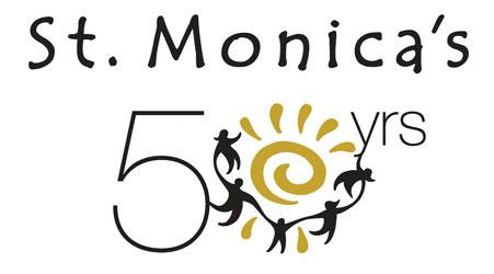 Logo_St_Monicas_50th_Anniversary_Lincoln_Nebraska