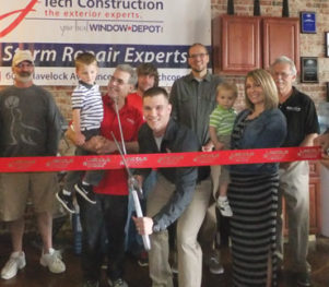 j-Tech Construction Ribbon cutting