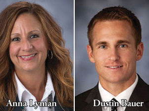 Anna Lyman and Dustin Bauer of West Gate Bank®