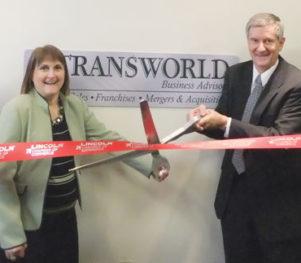 Transworld Business Advisors Ribbon Cutting Lincoln Nebraska