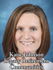 Katie Johnson Legacy Retirement Communities - Senior Health Lincoln Nebraska