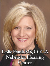 Leslie Frank MS, CCC-A Nebraska Hearing Center - Senior Health Lincoln Nebraska