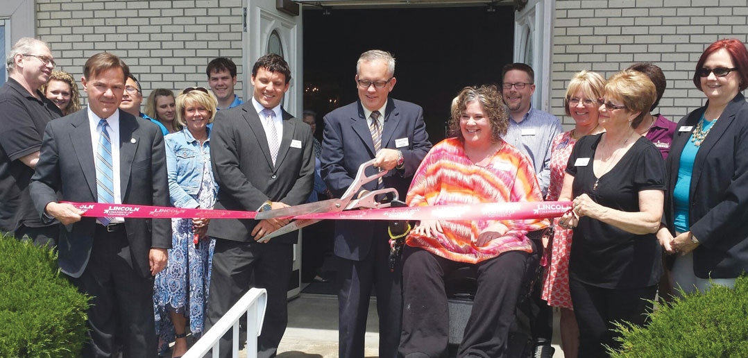 Lincoln Family Funeral Care Hosts Ribbon Cutting To Celebrate