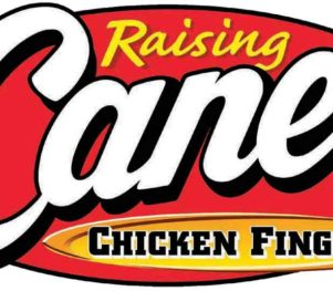 Raising Cane's Logo Stuff the Bus