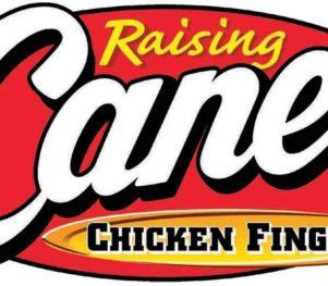 Raising Cane's Logo Stuff the Bus
