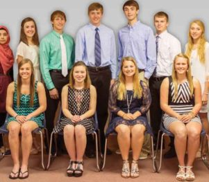 Butherus, Maser & Love Scholarship Recipients