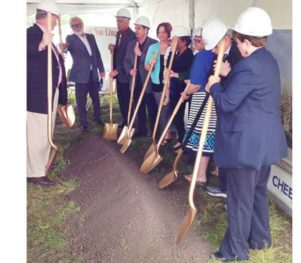 Cheever Construction breaks ground on Wysong Elementary