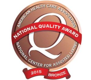 Lancaster Rehabilitation Center National Quality Award Lincoln Nebraska