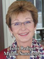 Terri Rediger Malibu Sunrooms - Residential Remodeling in Lincoln Nebraska