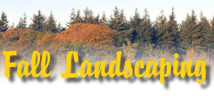 Fall Landscaping in Lincoln, Nebraska