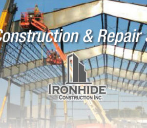 Header Ironhide Construction Inc