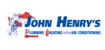 John Henry's Plumbing, Heating, and Air Conditioning logo