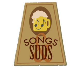 Merrymakers Songs and Suds logo