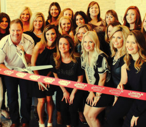 Tranquility Salon & Spa Ribbon Cutting Photo