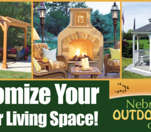 Nebraska Outdoor Living Center, Inc. Header