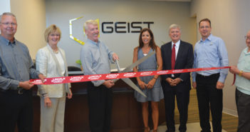 Geist lincoln ribbon cutting
