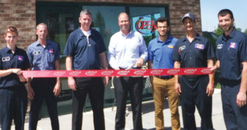 Valvoline Instant Oil Change ribbon cutting