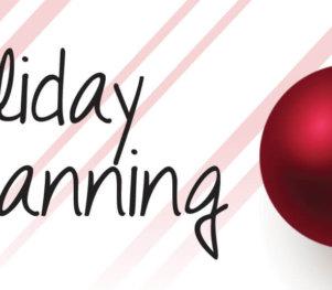 holiday planning header