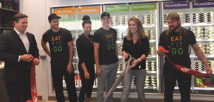 Eat Fit Go Lincoln Ribbon Cutting