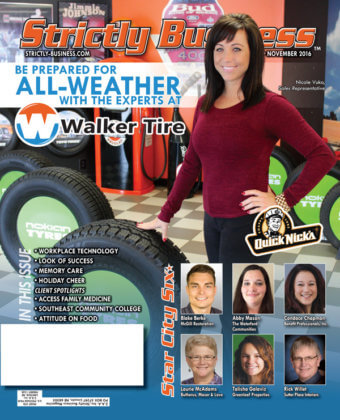 Cover Walker Tire Quick Nicks November 2016