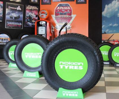 Walker Tire Quick Nick's Showroom