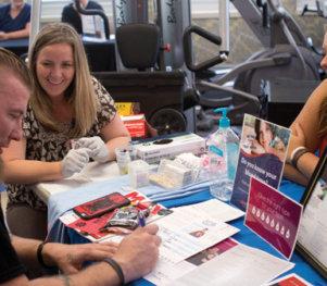 Nebraska Community Blood Bank-Education