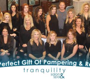 Tranquility Salon & Spa - Header