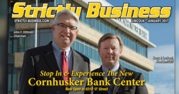 Cornhusker Bank Cover Story - January 2017