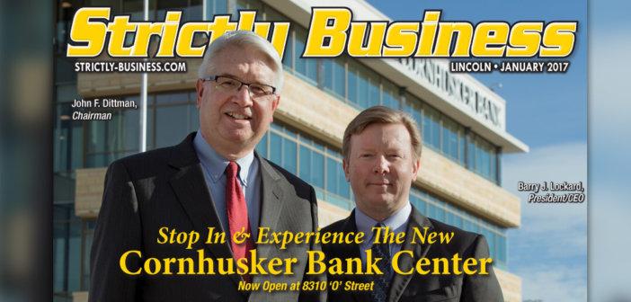 Cornhusker Bank Cover Story - January 2017