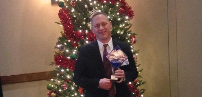 Theron Ahlman CarePatrol All-In award recipeint
