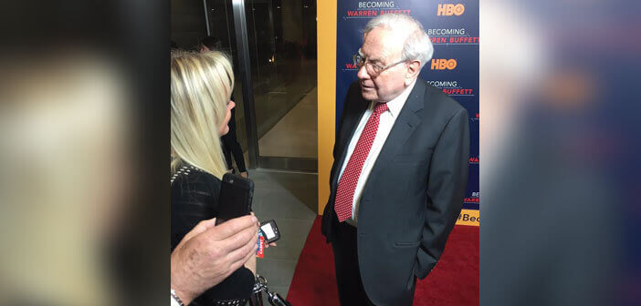 Becoming Warren Buffett Red Carpet Interview
