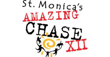St. Monica's Amazing Chase XII Logo
