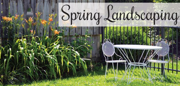 Spring Landscaping in Lincoln, NE – 2017