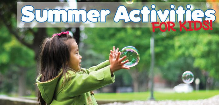 Summer Activities for Kids in Lincoln, NE - Header