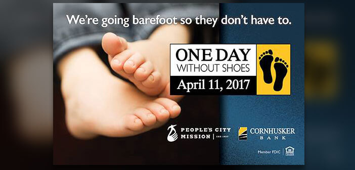 One Day Without Shoes - Cornhusker Bank