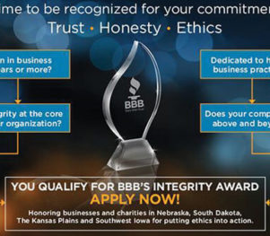 BBB Integrity Award Infographic 2017